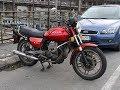Moto Guzzi V35 exhaust sound and acceleration