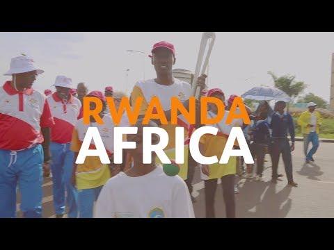 The Queen's Baton in Rwanda
