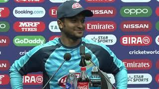 'Bangladesh comfortable with the run chase' - Shakib Al Hasan