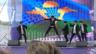 Русская плясовая от ВДВ Russian dance