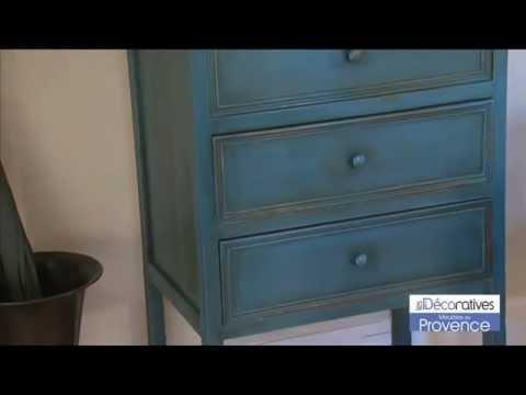 Efecto envejecido youtube for Meuble peinture effet vieilli