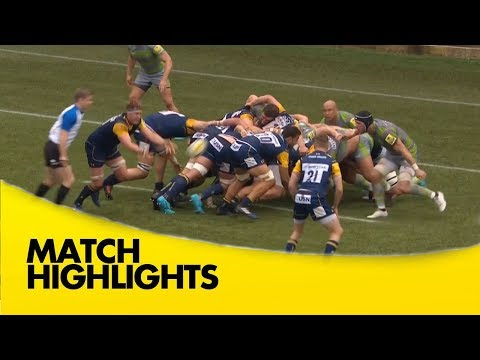 Worcester Warriors v Newcastle Falcons - Aviva Premiership Rugby 2017-18