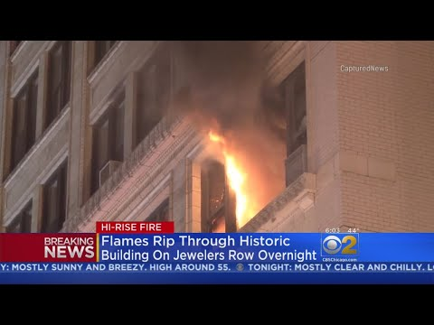 2 Rescued, 2 Firefighters Injured In Extra-Alarm Blaze On Jewelers Row