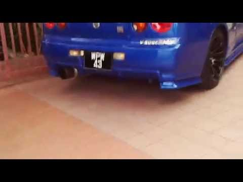 Living with a Nissan Skyline R34 Malaysia