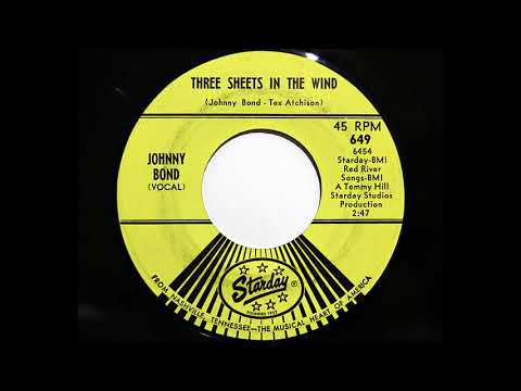 Johnny Bond - Three Sheets In The Wind (Starday 649)