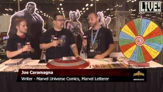 Writer Joe Caramagna sides with She-Hulk