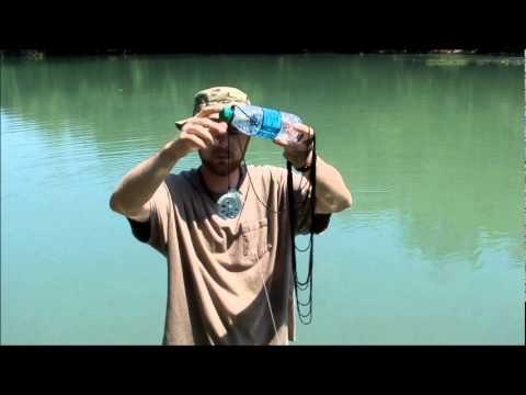 Yo yo trap jug set survival fishing youtube for Fishing yo yo