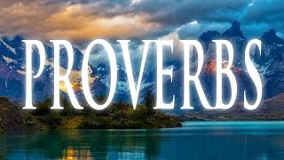 The Book of Proverbs: God's Creative Power Caught on Camera The Final Chapters