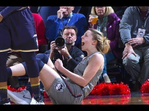 UConn Women's Basketball Highlights v. Notre Dame 12/03/2017