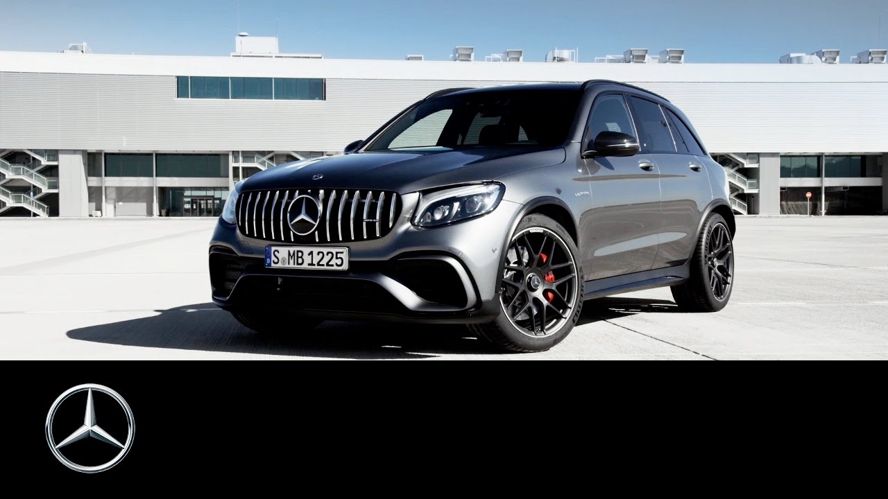 2018 mercedes amg glc 63 and glc 63 coup to take new york. Black Bedroom Furniture Sets. Home Design Ideas