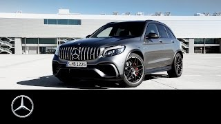 Mercedes AMG GLC 63 S 4MATIC+ with V8 expertise – Trailer – Mercedes Benz original