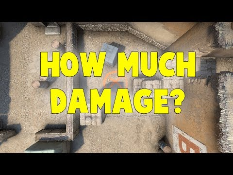 NEW DUST2 C4 HOW MUCH DAMAGE DO YOU TAKE AT CLOSET FROM C4?
