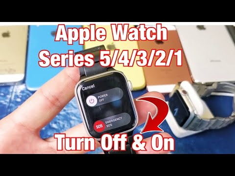 Apple Watch: How To Turn Off & On (Series 5, 4, 3, 2, 1)