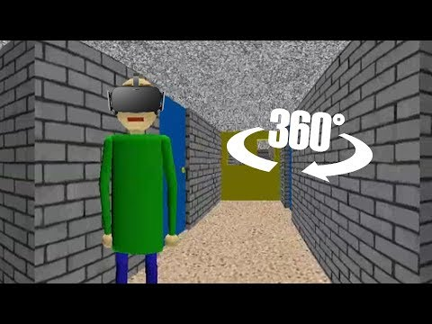 Baldi's Basics in 360/VR