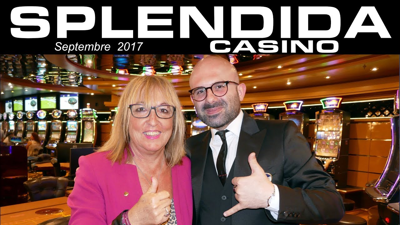 MSC SPLENDIDA 2017 Casino By Costi - YouTube