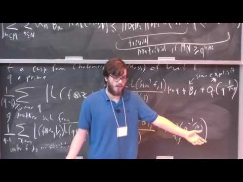 6. Applications of Exponential Sums - Will Sawin (ETH Zürich) [2017]