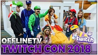OFFLINETV TWITCHCON VLOG & TOAST'S REACTION TO NEW HOUSE
