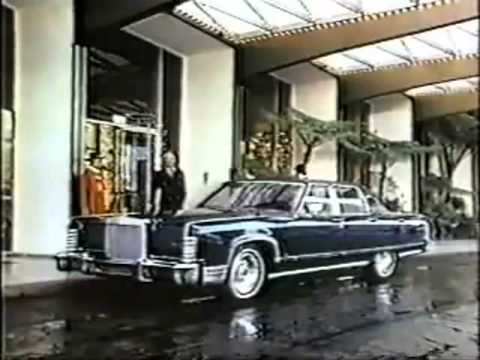 1977 lincoln continental commercial
