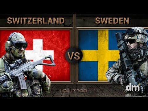 Switzerland Vs Sweden - Army/Military Power Comparison 2018 (Swiss Army Vs Swedish Army)