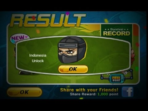 How To Unlock Indonesia In Head Soccer (Survival SS Rank)