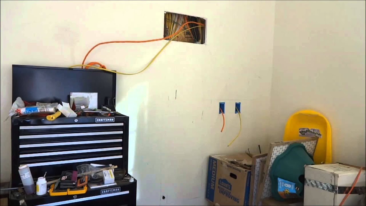 small resolution of wiring 110 120 220 240 in garage or shop with in wall breaker panel