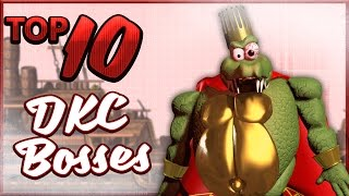 Top 5 Best and Worst Donkey Kong Bosses - Donkey Kong Month