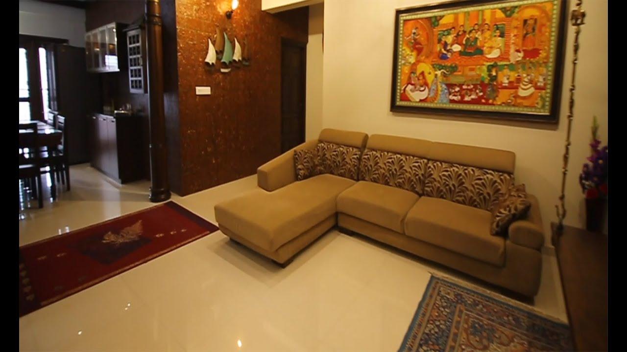ക രള സ റ റ ൽ വ ട Kerala Style Home Joby Joseph Interior Designer Youtube