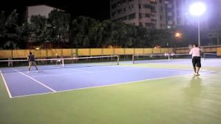 20131109 Roddick Blue + 王士文 VS 蔡裕民 +Steven at 潭子