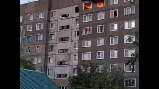 Взрыв бытового газа в жилом доме. Моршанск