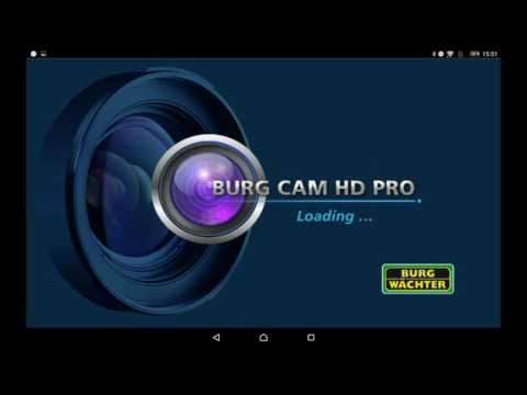 SANTEC BURG WÄCHTER WLAN Kamera BURGcam Einrichtung Tutorial