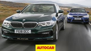 2018 BMW M5 vs Alpina B5 - 5 Series super-saloon showdown | Autocar