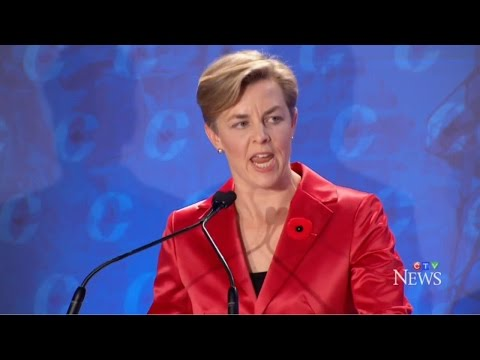 Conservative Party of Canada Leadership Candidates Debate Climate Change