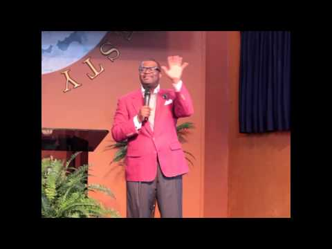 "Bishop L. Spenser Smith- ""I Will Not Be Devoured"" J"