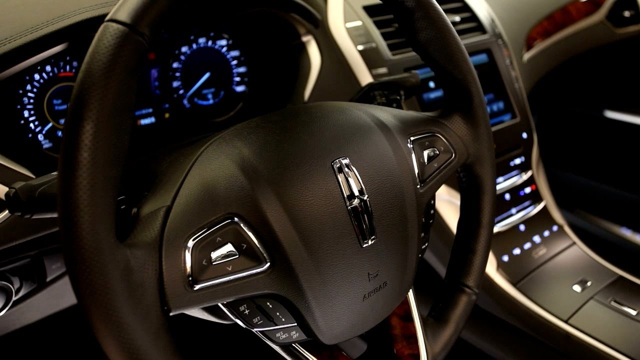 ▻ 2013 Lincoln MKZ Interior   YouTube Nice Design