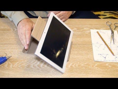 Подставка для планшета на стол своими руками