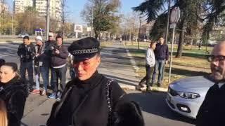 Svetlana Ceca Ražnatović sa advokatom na ročištu povodom tužbe i kontratužbe protiv Jelene Karleuše