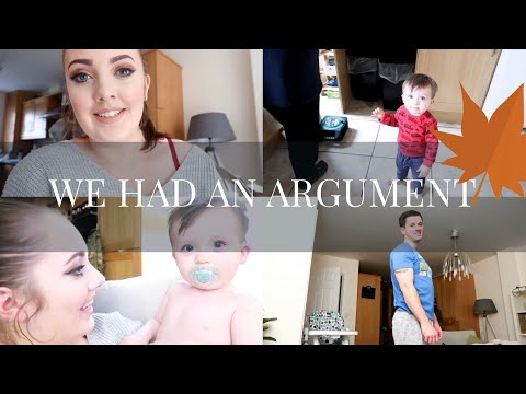NORMAL DAY, WE HAVE AN ARGUMENT & END OF VLOG CHAT | SammyBird | Vlogtober