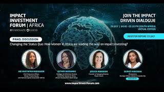 How Women in Africa are leading the way on impact investing