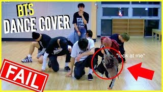(BTS) KPOP DANCE COVER FAIL!!! #BTSBBMAs