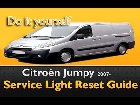 citroen jumpy 2007 service light reset guide youtube rh youtube com Jumpy Jump Jumpy Cat
