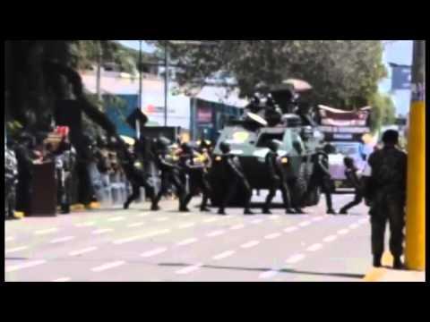 Mirá la coreo que hicieron unos policías en un desfile