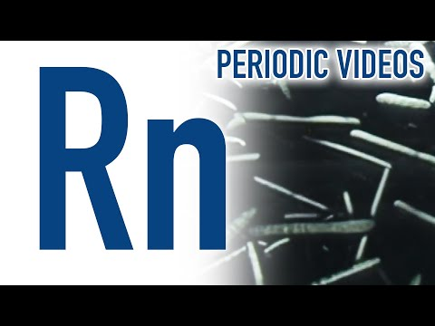 Video image: Radon - Periodic Table of Videos