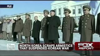 World War 3 : North Korea scraps the 1957 Armistice that suspended Korean War (Mar 11, 2013)