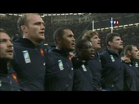 France - Nouvelle Zélande (20 - 18) avec hymnes et Haka 2007
