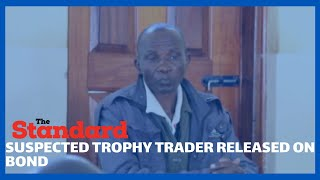 Man suspected for being in possession of elephant tusks released on KSH 1 million bond cash bail