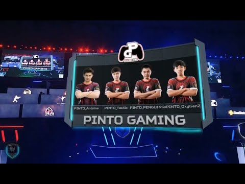 PREDATOR League Asia-Pacific Pinto Gaming team winner of Game 7
