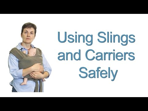 Using Slings and Carriers Safely to carry your baby – Ways to Carry