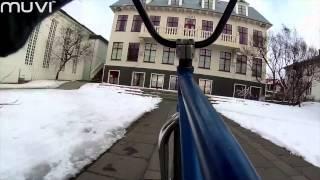 Veho MUVI K-Series - BMX Street Ride in Reykjavik, Iceland