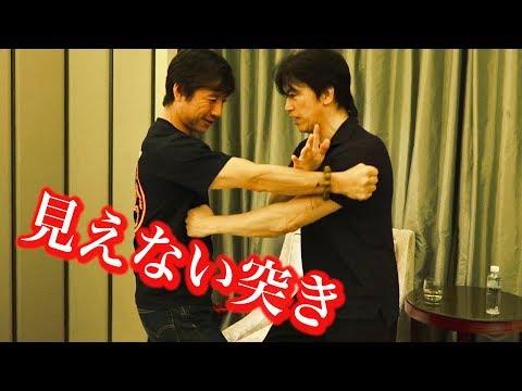 これがカンフー達人の見えない突きだ!キミには見えるか?【宮平保の翻浪勁】Invisible punch! Kung-fu Master, Tamotsu Miyahira