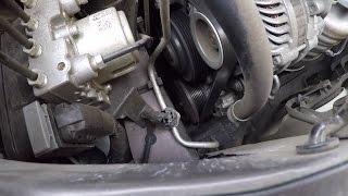 видео Радиатор кондиционера Honda Civik